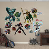 Marvel Avengers Assemble Villains Collection Wall Decal