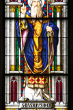 Germany, Cologne, Cologne Cathedral, South Transept, Stained Glass Window, The St. Paul  Window Photographic Print by Samuel Magal