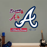 Atlanta Braves Alternate Logo Wall Decal