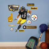 Troy Polamalu - Fathead Jr. Wall Decal