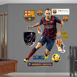 AndrIniesta - No. 8 Wall Decal