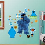 Cookie Monster Wall Decal