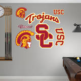 USC Trojans Logo Wall Decal