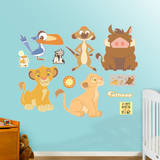 Lion King Kids Collection Wall Decal