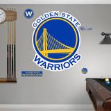 Golden State Warriors Logo Wall Decal