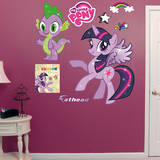 My Little Pony: Twilight Sparkle & Spike Wall Decal