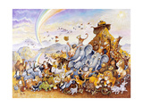 Noah's Happy Ending Giclee Print by Bill Bell