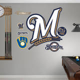Milwaukee Brewers Alternate Logo Wall Decal