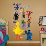 Sesame Street Collection Wall Decal