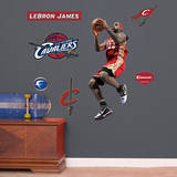 LeBron James Throwback, In The Lane - Fathead Jr. Wall Decal