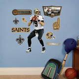 Drew Brees - Fathead Jr. Wall Decal