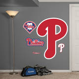 Philadelphia Phillies Alternate Logo Wall Decal