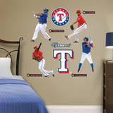 Texas Rangers Power Pack Wall Decal