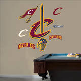 Cleveland Cavaliers Alternate Logo Wall Decal