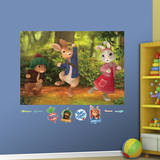 Peter Rabbit Mural Wall Mural