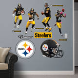 Pittsburgh Steelers Power Pack Wall Decal