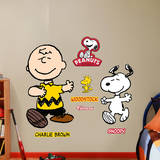 Charlie Brown and Snoopy Wall Decal