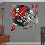 Tampa Bay Buccaneers Helmet Wall Decal