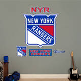 New York Rangers Logo Wall Decal
