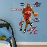 LeBron James Throwback - Fathead Jr. Wall Decal