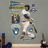 Carlos Gomez Wall Decal
