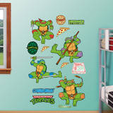 Classic Teenage Mutant Ninja Turtles Collection Wall Decal
