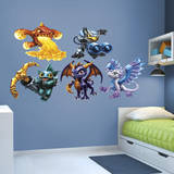 Skylanders Core Collection Wall Decal