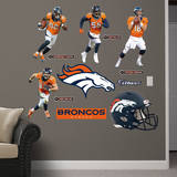 Denver Broncos Power Pack Wall Decal