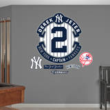 Derek Jeter- 2014 Retirement Logo Wall Decal