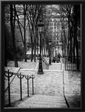 Staircase Montmartre - Paris - France Framed Photographic Print by Philippe Hugonnard