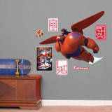 Disney Big Hero 6: Baymax & Hiro Fathead Jr. Wall Decal