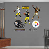 Ben Roethlisberger Hero Pack Wall Decal