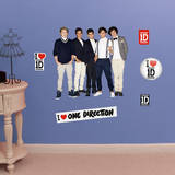 One Direction Group Pose - Fathead Jr. Wall Decal