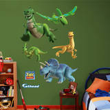 Toy Story Dinomight Collection Wall Decal