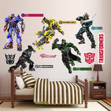 Transformers 4 Collection Wall Decal