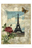 Eternal Paris Posters par Abby White
