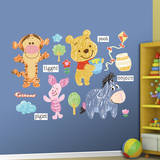 Winnie the Pooh Sketch Collection Wall Decal