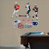 Tom Brady Hero Pack Wall Decal