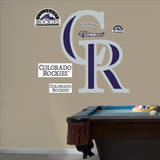 Colorado Rockies Alternate Logo Wall Decal