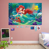 The Little Mermaid Mural Wall Mural