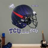 TCU Horned Frogs Bleeding Eyes Helmet Wall Decal