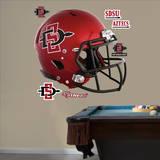 San Diego State Aztecs Helmet Wall Decal
