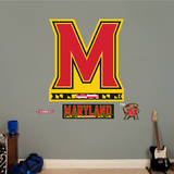Maryland Terrapins M Logo Wall Decal