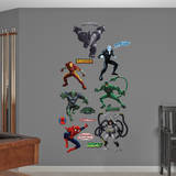Ultimate Spider-Man Villains Collection Wall Decal
