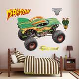 Monster Jam: Dragon Wall Decal