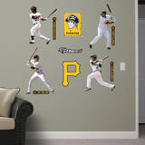 Pittsburgh Pirates Power Pack Wall Decal