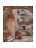 Il Cortile dell'arco Giclee Print by Guido Borelli