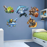 Skylanders Trap Team Collection Wall Decal