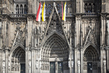 Germany, Cologne, Cologne Cathedral, Southern Facade, General View Photographic Print by Samuel Magal