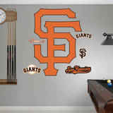 San Francisco Giants Alternate Logo Wall Decal
